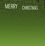 Abstract christmas card Stock Photo