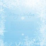 Abstract christmas card Royalty Free Stock Photos