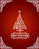Abstract christmas card Royalty Free Stock Photography