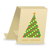 Abstract christmas card Stock Images