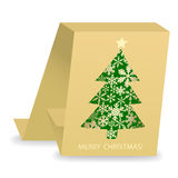 Abstract christmas card Royalty Free Stock Images