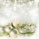 Abstract Christmas decoration Stock Image