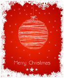 Abstract christmas decoration background Stock Photo