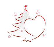 Abstract christmas decoration Royalty Free Stock Photo