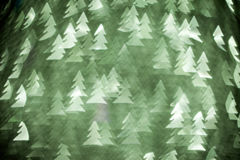 Abstract christmas firs Royalty Free Stock Image