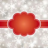 Abstract christmas frame Royalty Free Stock Image