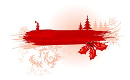 Abstract christmas frame Stock Images