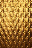 Abstract Christmas Gold Metal Background
