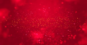 Abstract christmas gradient red background with bokeh, valentine day love holiday event festive stock video footage