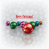 Abstract christmas grunge background Royalty Free Stock Photos
