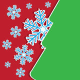 Abstract christmas holiday greeting card Stock Photos