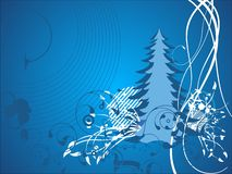Abstract christmas illustration  Stock Photography