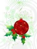 Abstract christmas  illustration Stock Photography