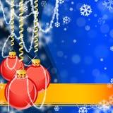 Abstract Christmas illustration Stock Photo