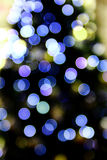 Abstract Christmas light Royalty Free Stock Photography
