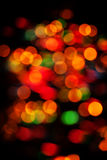 Abstract Christmas light background Stock Image