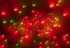 Abstract Christmas light background Royalty Free Stock Photo