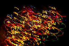 Abstract Christmas light background Royalty Free Stock Photos