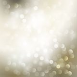 Abstract Christmas  light background Royalty Free Stock Photography