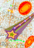Abstract Christmas light bokeh blur background Royalty Free Stock Photography