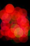 abstract christmas lights Στοκ Εικόνες