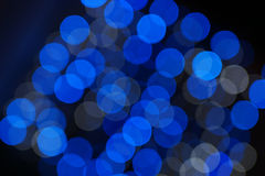 Abstract christmas lights Stock Photography