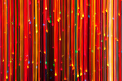 Abstract Christmas Lights Royalty Free Stock Photography