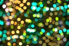 Abstract Christmas lights Stock Photos