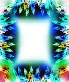 Abstract christmas lights Stock Image