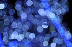 Abstract christmas lights Stock Images