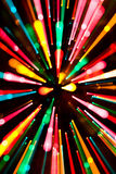 Abstract Christmas Lights Royalty Free Stock Image