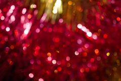 Abstract christmas lights as background Royalty Free Stock Images