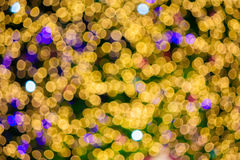 Abstract christmas lights background Stock Image