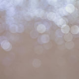 Abstract christmas lights , background bokeh circles. For Christmas background Royalty Free Stock Image