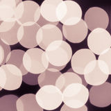Abstract christmas lights , background bokeh circles. For Christmas background Stock Images