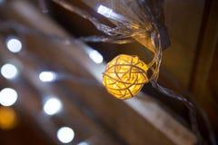 Abstract Christmas lights background, bokeh. Celebration Stock Photography