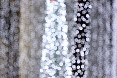 Abstract christmas lights of background. Stock Images