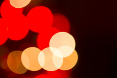 Abstract Christmas Lights Stock Image