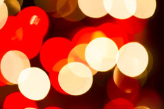 Abstract Christmas Lights Stock Photos