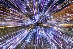 abstract christmas lights tree Στοκ φωτογραφία με δικαίωμα ελεύθερης χρήσης