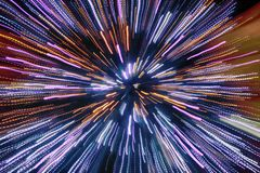 abstract christmas lights tree Στοκ φωτογραφίες με δικαίωμα ελεύθερης χρήσης