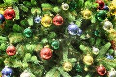 abstract christmas lights tree Στοκ Εικόνα