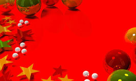 Abstract Christmas and New Year background Stock Images