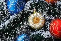 Abstract christmas or new year background. Stock Photo