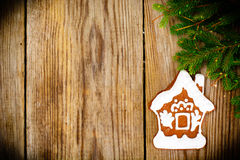 Abstract Christmas and New Year Background with Old Vintage Wood Royalty Free Stock Images