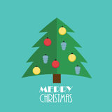 Abstract Christmas and New Year Background. Vector Royalty Free Stock Images