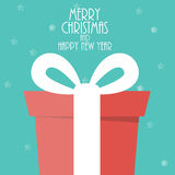 Abstract Christmas and New Year Background. Vector Stock Photos