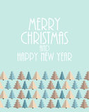 Abstract Christmas and New Year Background. Vector Stock Photo