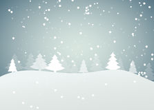 Abstract Christmas and New Year Background. Vector Royalty Free Stock Photography