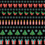 Abstract Christmas and New Year Seamles Pattern Royalty Free Stock Photo